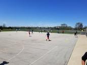 Wiffle ball in PE