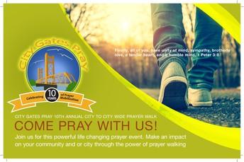 City Gates Pray - City Prayer Walk