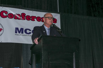 MoASSP President, Ed Gettemeier, Presides Over Awards Luncheon