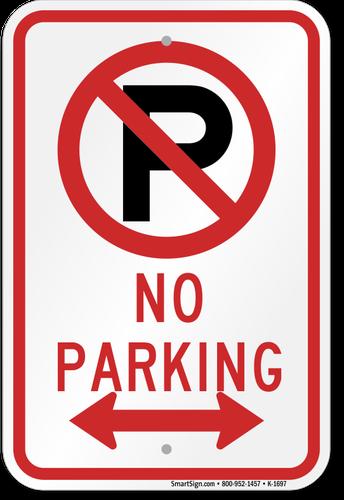 No Parking in the Crosswalk