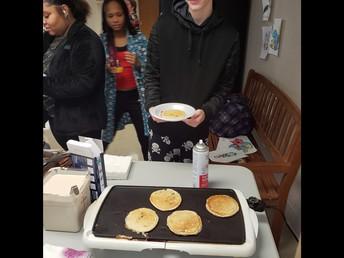 PJs and Pancakes...Holiday Fun!