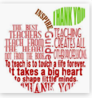 Teacher Appreciation Week is May 4th- 8th