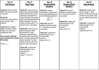 Math: April 13-17