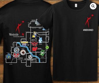 Westside #BeKind Shirts Now Available