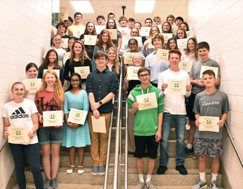 Academic Excellence in 18-19 for Grade 9