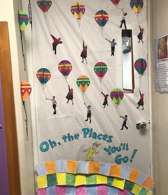 Mrs. Gutierrez's Winning Door