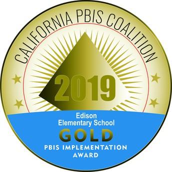 California PBIS Gold Award - Let's Go!