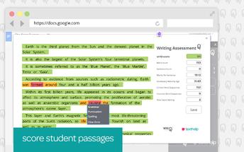 Scores Student Passages