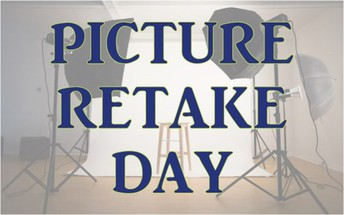 Picture Day Re Takes/Make Up Day ~ Friday, October 18th