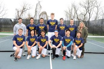 2018 District I Champion Boys Tennis