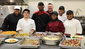 Medford Culinary Arts & Hospitality Students Literally Serving our Business Community