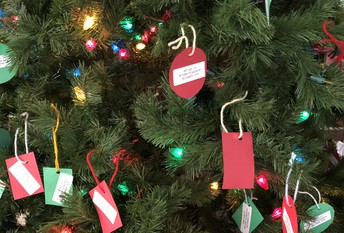 Head Start 'Giving Tree'