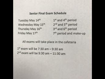 Senior Final Exams