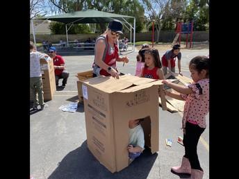 Cardboard Playground Fun