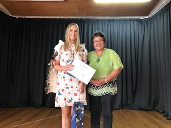Congratulations Miss Bleasdale