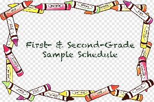 1-2 Grade Sample Schedule