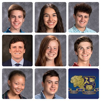 WGHS Students Inducted into Business and Marketing Honor Society