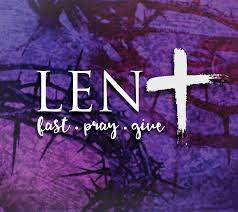 LENT IN OUR CLASSROOMS