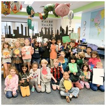 Second Grade Balloon Parade