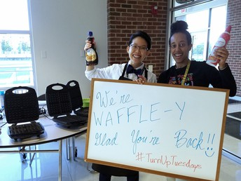 Welcome Back Waffles for Teachers!