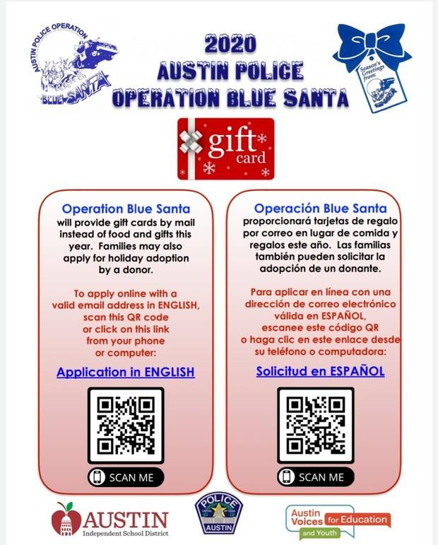 Link to Operation Blue Santa