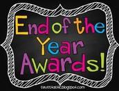 Awards Tomorrow!