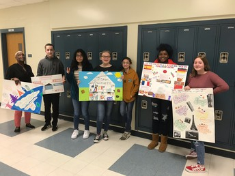 Foreign Language Posters with Dr. Murillo!