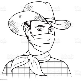 MASK UP AND STAY SAFE WRANGLERS!