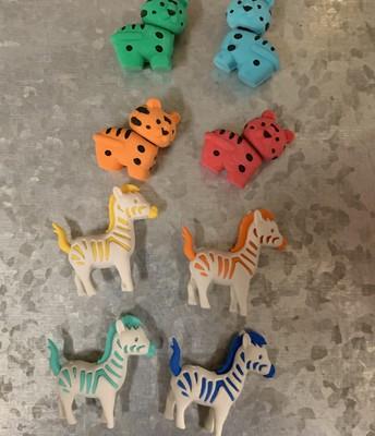 Tiger or Zebra Puzzle Eraser