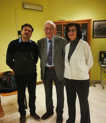 i doc. Francesco Guarino ed Elisabetta Cattich hanno curato l'incontro
