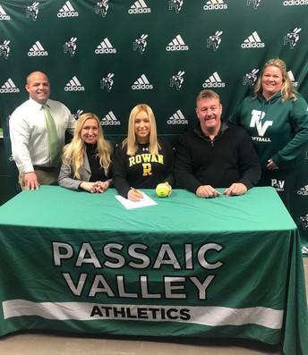 Softball player, Shana Donnelly, signed to Rowan University