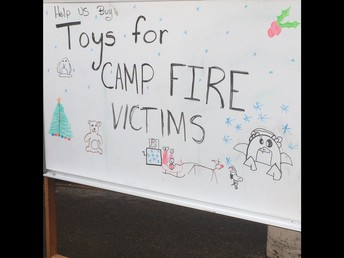 ...for kids in the Camp Fire zone