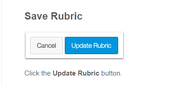 Editing the Rubric