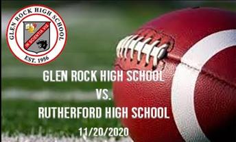 Live Stream for Friday Night Football!  Glen Rock vs. Rutherford