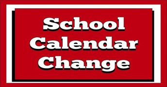 Calendar Change - Full Day of School October 14th