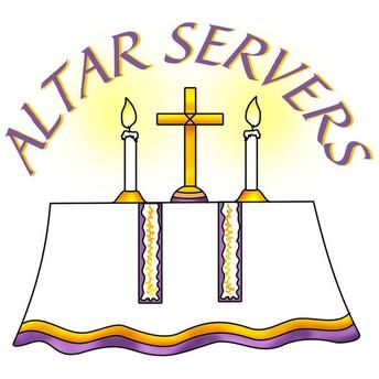 ALTAR SERVER RECOGNITION CEREMONY