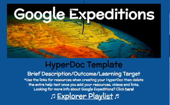 Google Expeditions HyperDoc Template