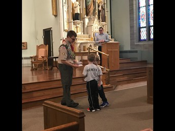 Donation to St. Michael Kneeler Project