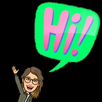 Hello 1st Grade Friends!