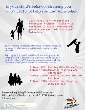 Join Pivot EAP for Parenting Relief