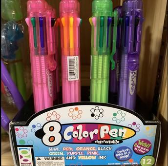 8 Color Pen