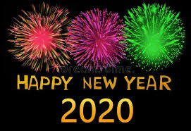 Happy New Year!  Welcome 2020!