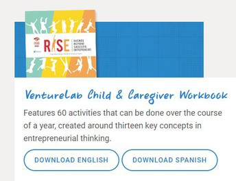 FREE Child & Caregiver Workbook: Entrepreneurial Thinking