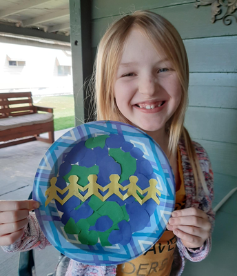 A beautiful Earth Day art piece by Mattaeya!