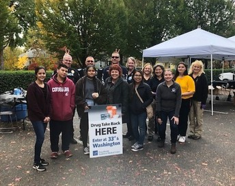 Central Vancouver Coalition's first Drug Take Back!