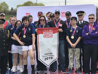 NDSS Special Olympians earned gold in soccer