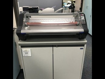 New Laminator for the Workroom!