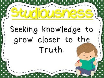 Virtue of the Month: STUDIOUSNESS