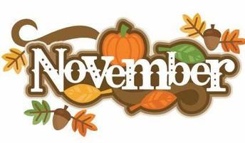 Important November Dates