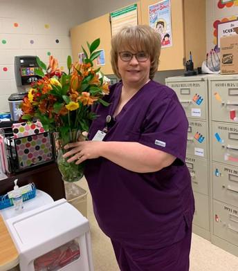 Nurse Maria Hicks